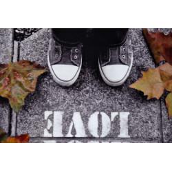 Baskets et feuilles mortes