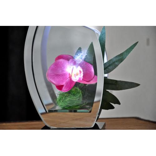 fleurs artificielles orchidée