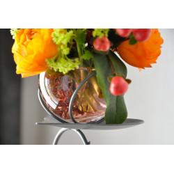 Vase soliflore pendentif coeur Kino Jima