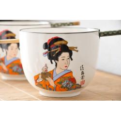 Bols Geisha style Japonais (set de 2)