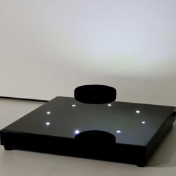 Base électromagnétique 400G slim avec LEDS