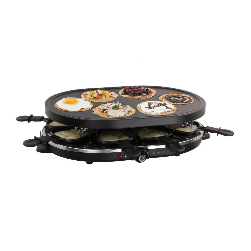 Appareil à raclette et mini-crêpes