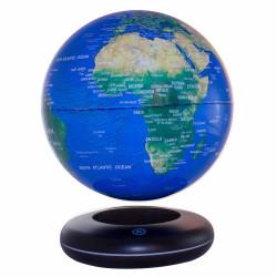 Globe terrestre 20 cm lumineux en lévitation