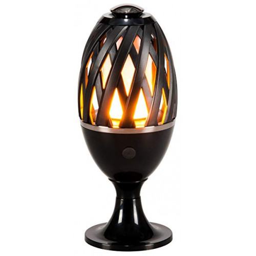 Lampe-torche LED effet flamme position table