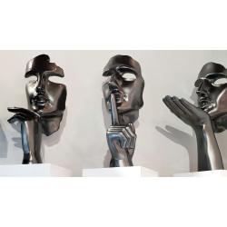 Statue Speranza Gris Perle - collection Initial gris