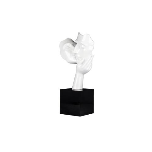 Statue AMORE Blanc