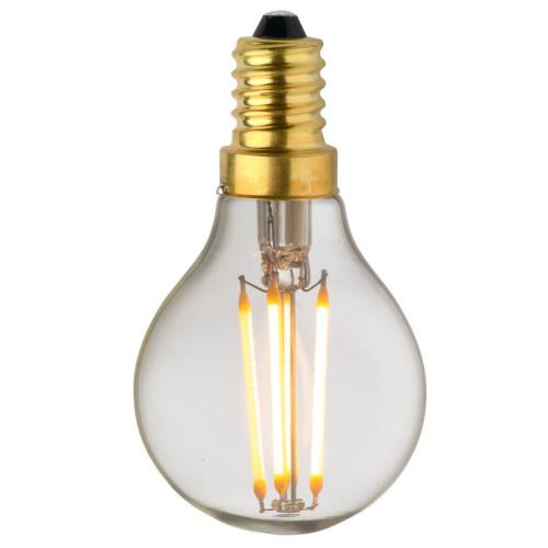 Ampoule Lampe C45 E14 filament droit classique