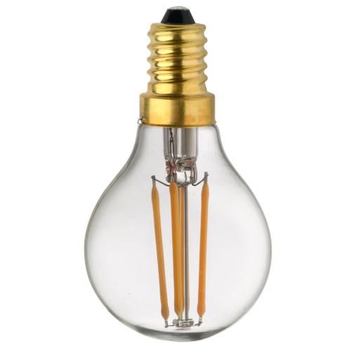 Ampoule Lampe C45 E14 filament droit classique 1