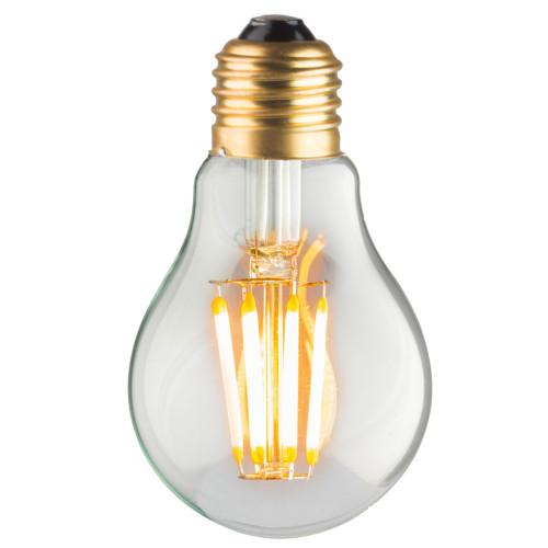 Ampoule A60 E27 filaments droits