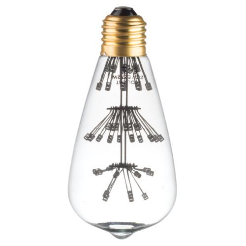 Ampoule ST64 E27 multipoint 1