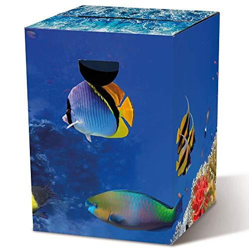 Tabouret aquarium