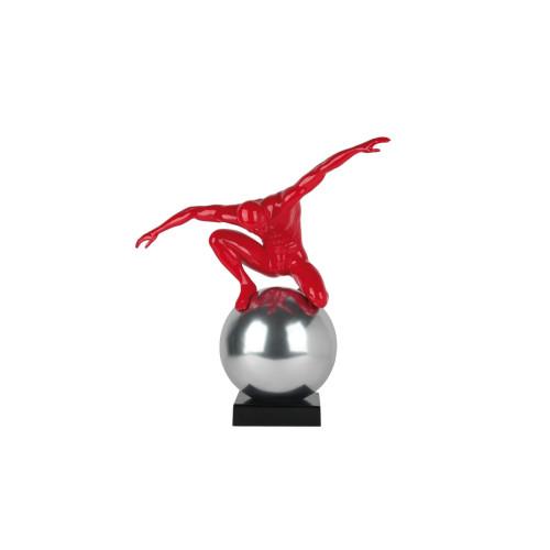 Sculpture STABILITA rouge