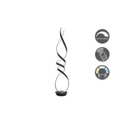 Lampadaire Design Ruban noir-1